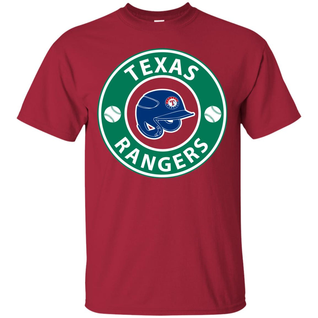Starbucks Coffee Texas Rangers T Shirts