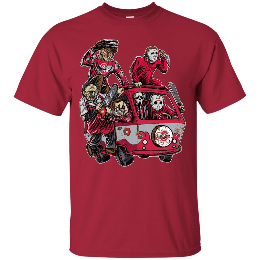 The Massacre Machine Ohio State Buckeyes T Shirt - Best Funny Store