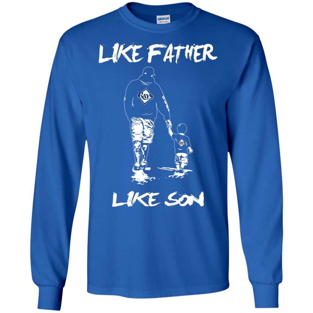Like Father Like Son Tampa Bay Rays T Shirt