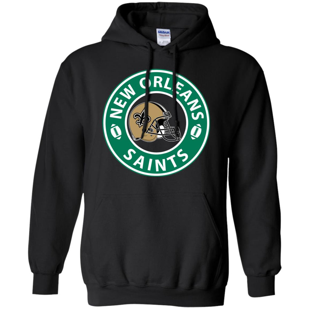 Starbucks Coffee New Orleans Saints T Shirts