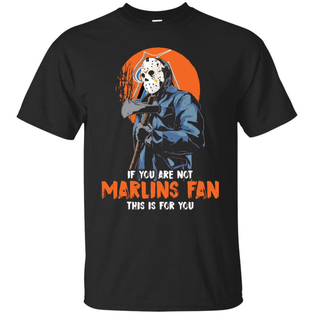 Jason With His Axe Miami Marlins T Shirts