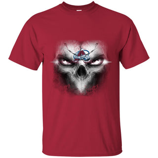 Colorado Avalanche Skulls Of Fantasy Logo T Shirts