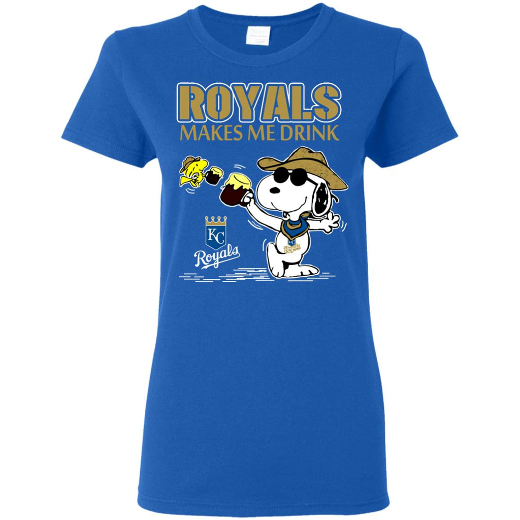 Kansas City Royals Makes Me Drinks T Shirts