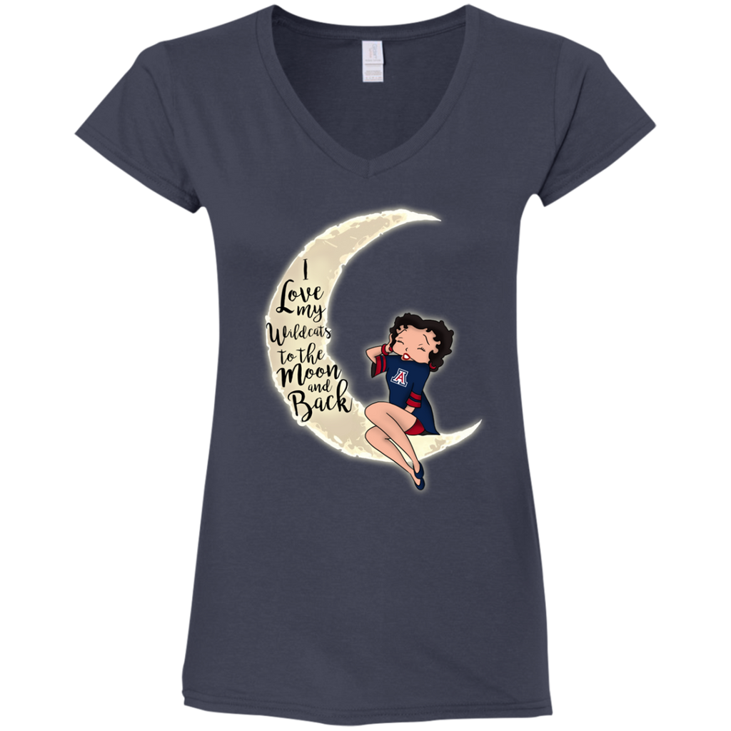 BB I Love My Arizona Wildcats To The Moon And Back T Shirt - Best Funny Store