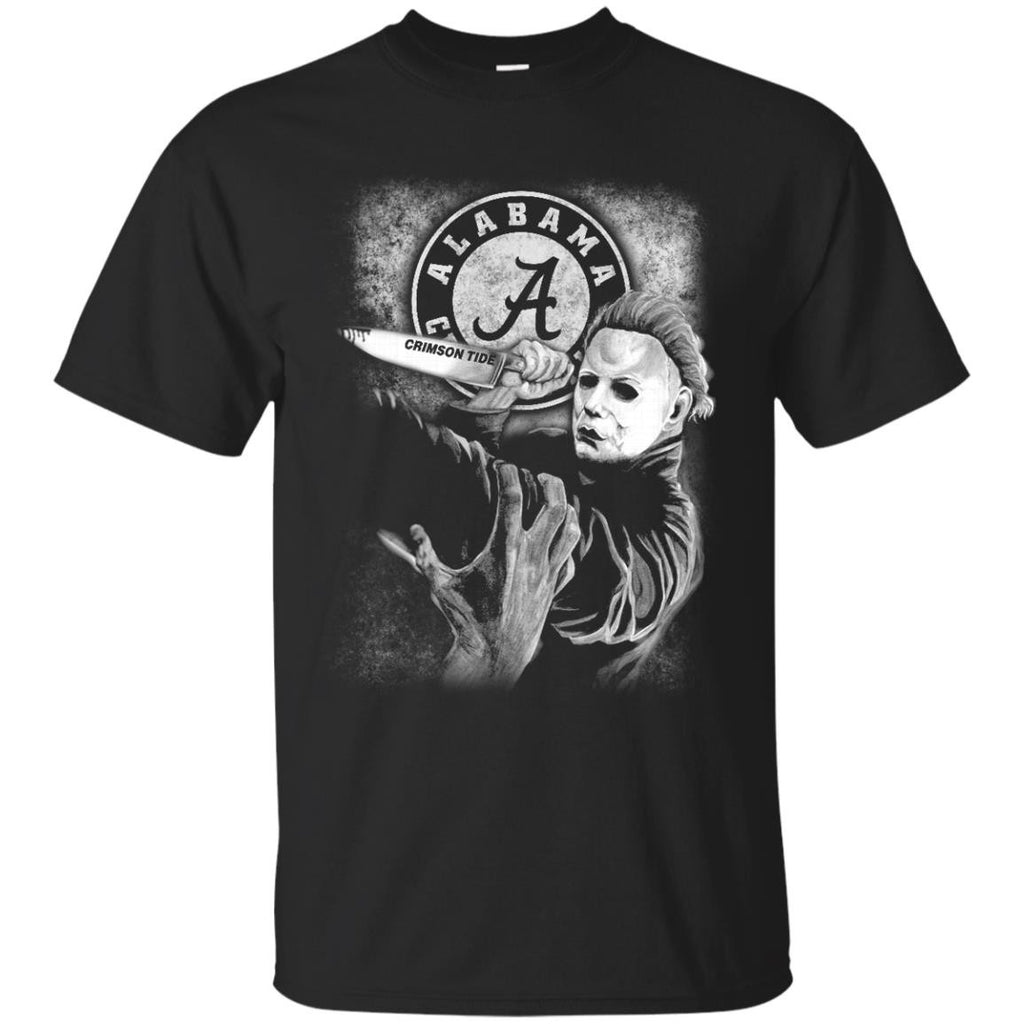Michael Jason Myers Friday The 13th Alabama Crimson Tide Halloween T Shirts - Best Funny Store