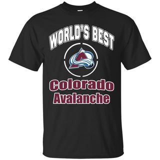 Amazing World's Best Dad Colorado Avalanche T Shirts