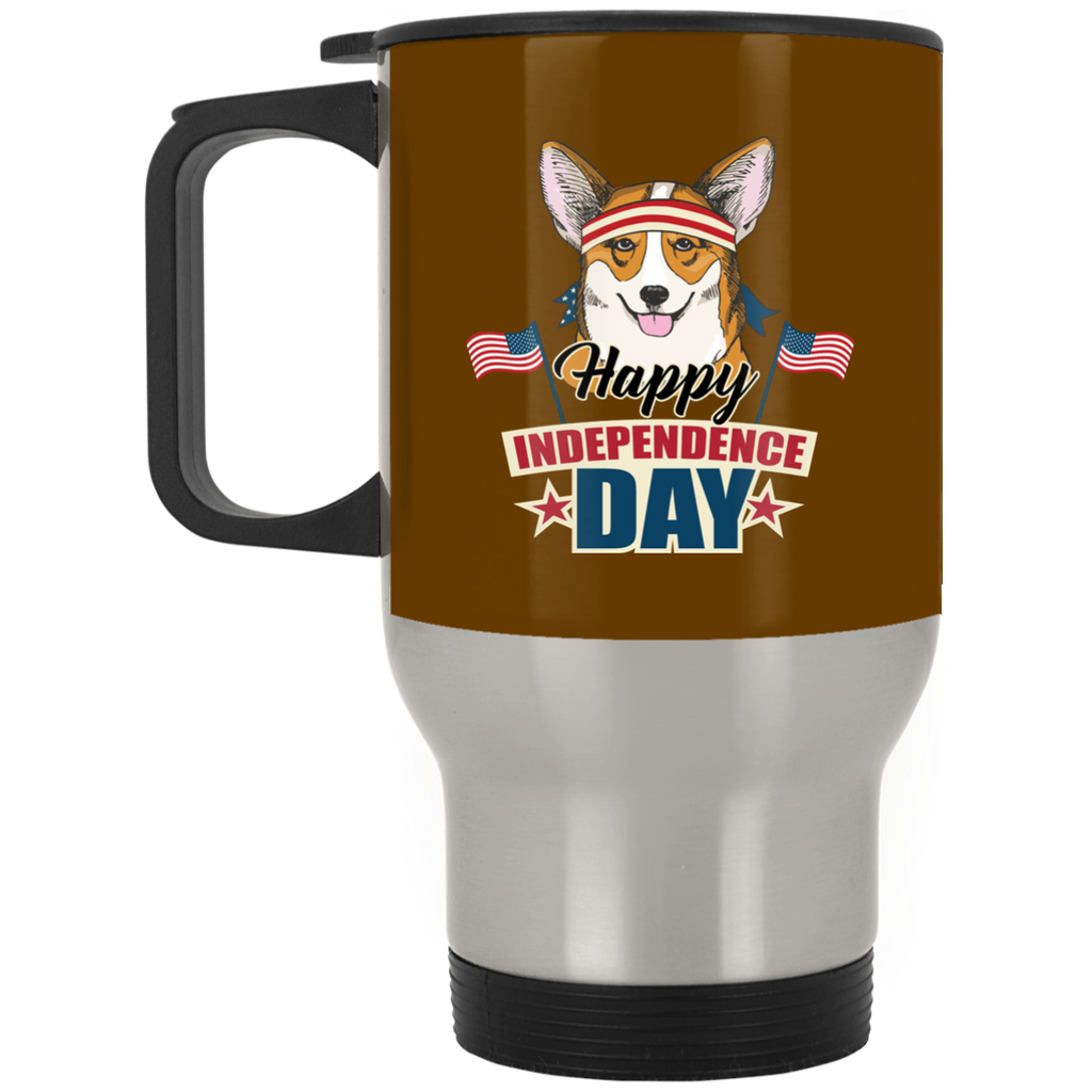 Corgi - Happy Independence Day Mugs Ver 2