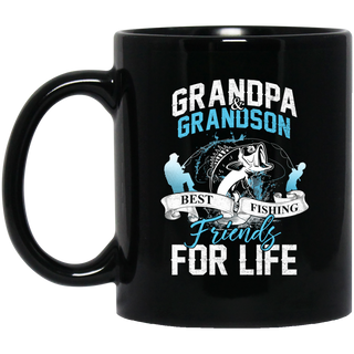 Grandpa & Grandson Best Fishing Friends Mugs