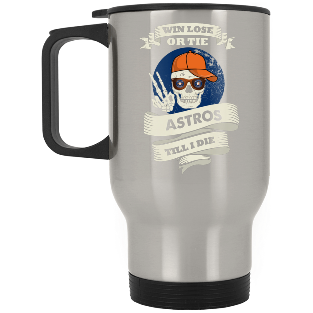 Skull Say Hi Houston Astros Mugs