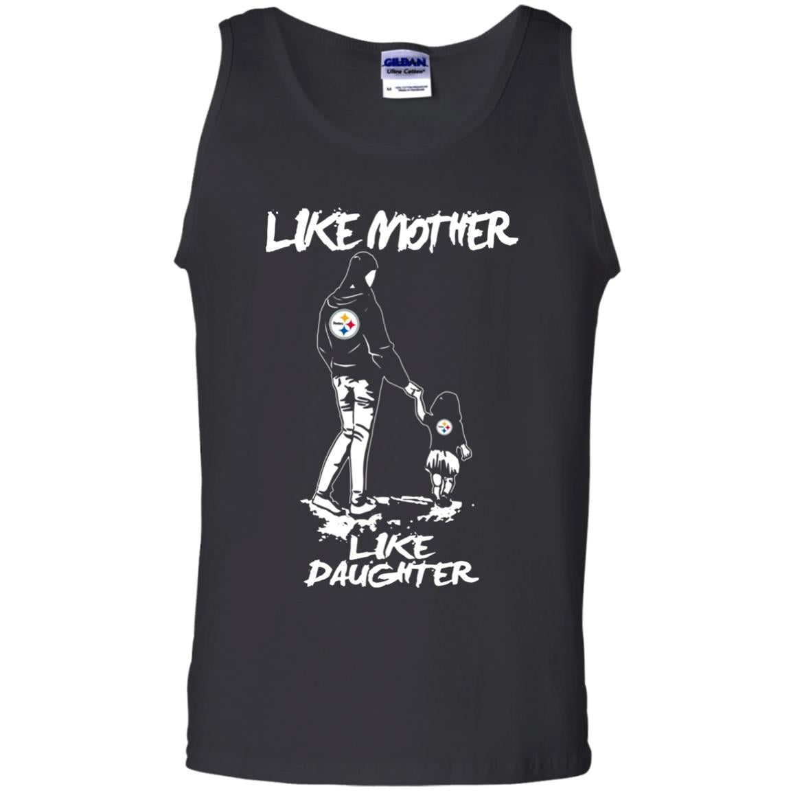 Like Mother Like Daughter Pittsburgh Steelers T Shirts
