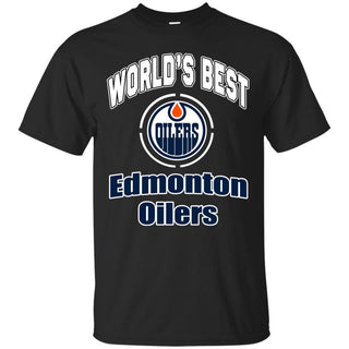 Amazing World's Best Dad Edmonton Oilers T Shirts