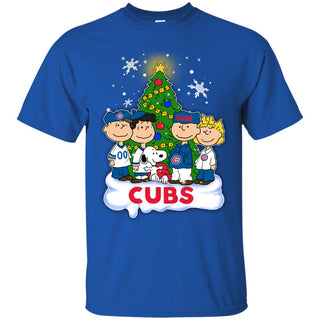 Snoopy The Peanuts Chicago Cubs Christmas Sweaters