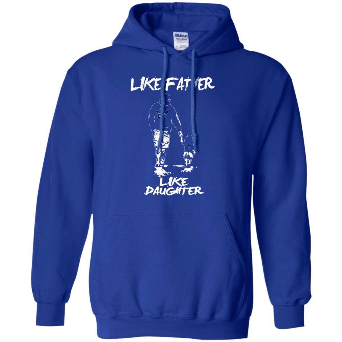 Like Father Like Daughter Toronto Maple Leafs T Shirts