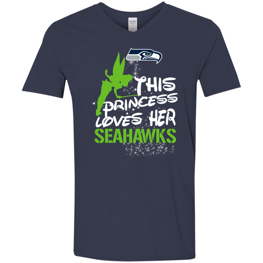 This Princess Love Her Seattle Seahawks T Shirts