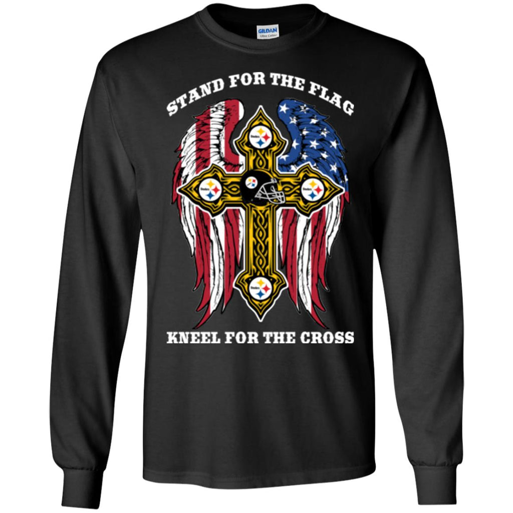 Stand For The Flag Kneel For The Cross Pittsburgh Steelers T Shirts