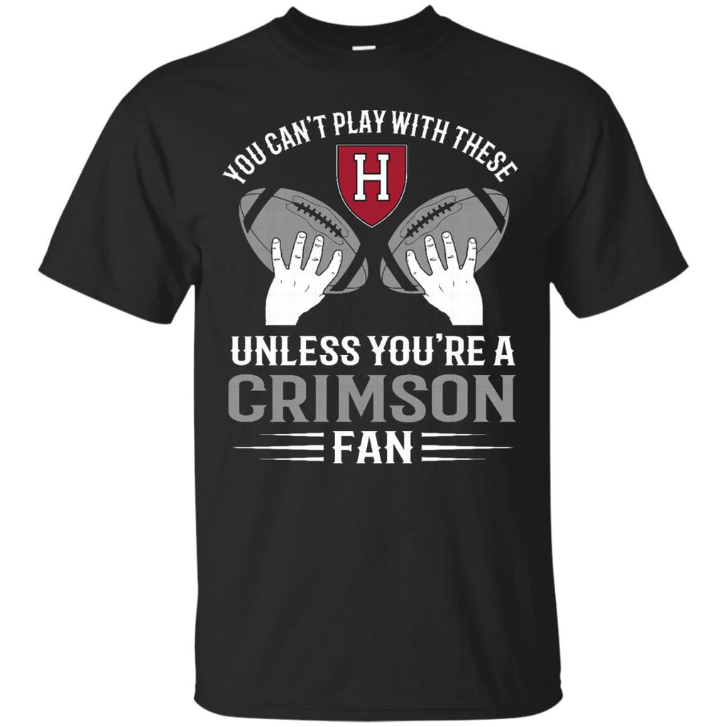 Play With Balls Harvard Crimson T Shirt - Best Funny Store