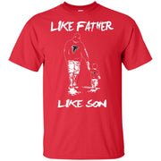 Like Father Like Son Atlanta Falcons T Shirt