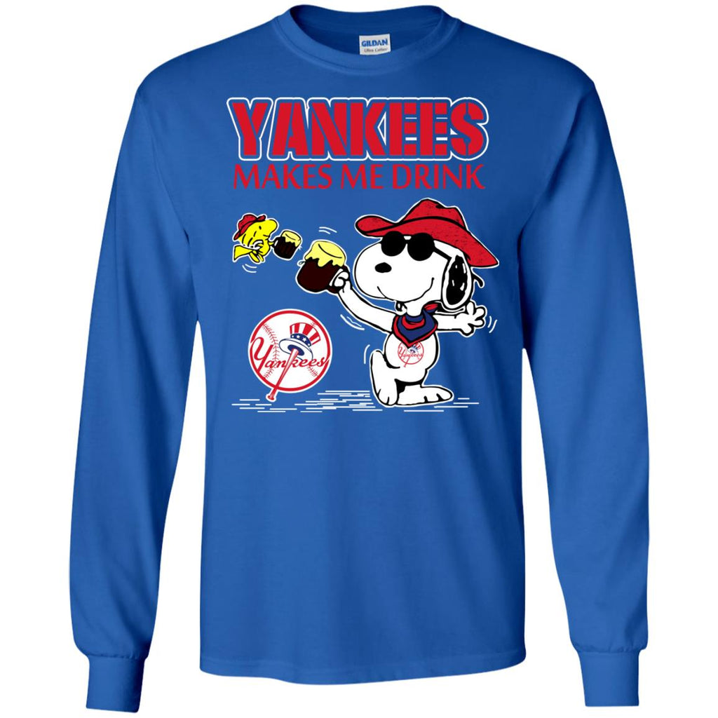 New York Yankees Makes Me Drinks T Shirts