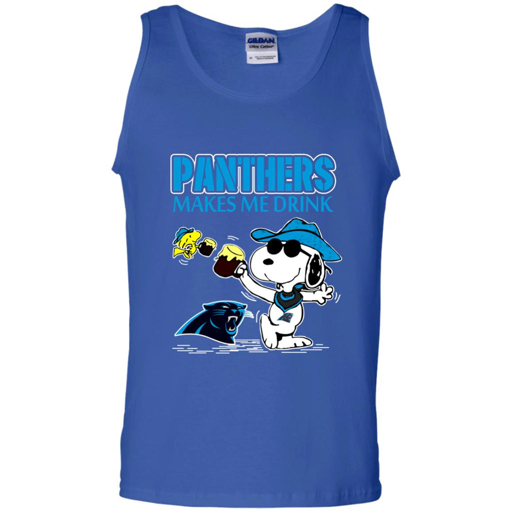 Carolina Panthers Make Me Drinks T Shirts