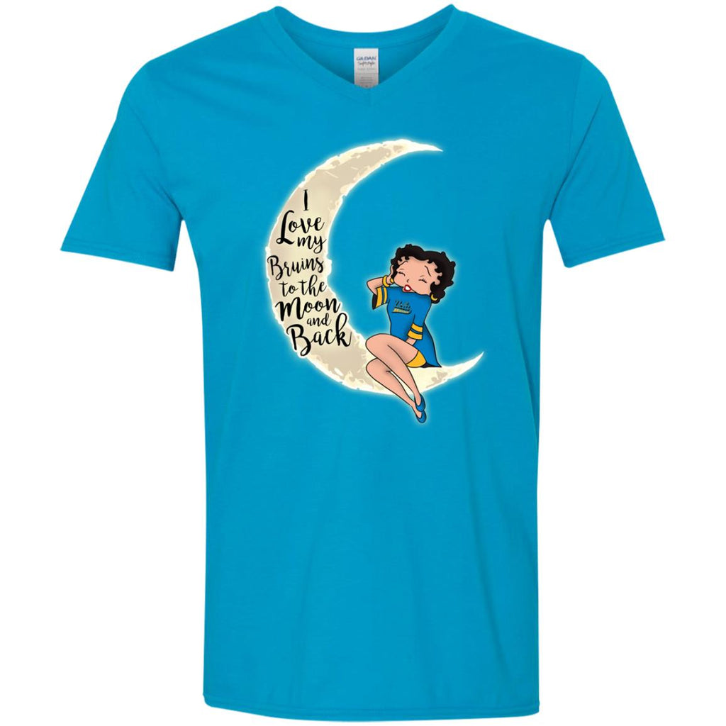 BB I Love My UCLA Bruins To The Moon And Back T Shirt