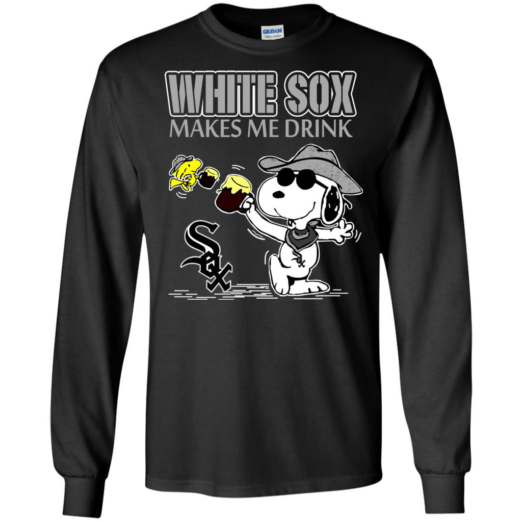 Chicago White Sox Makes Me Drinks T Shirts