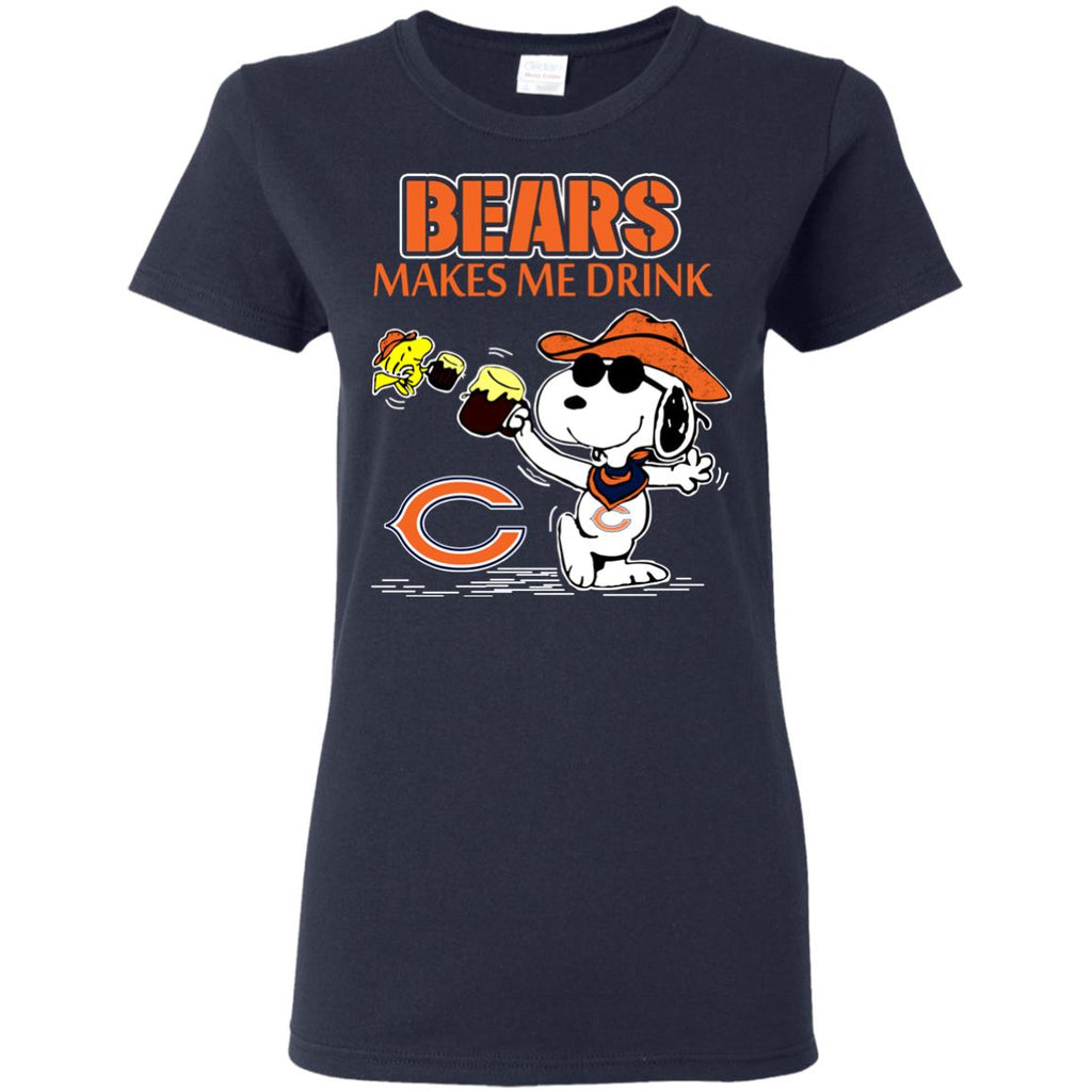 Chicago Bears Make Me Drinks T Shirts