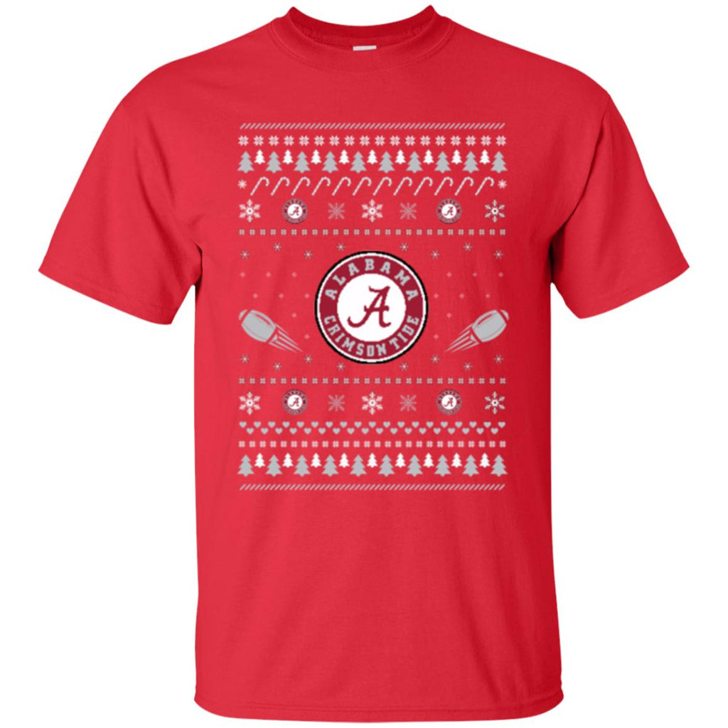 Alabama Crimson Tide Stitch Knitting Style Ugly T Shirts