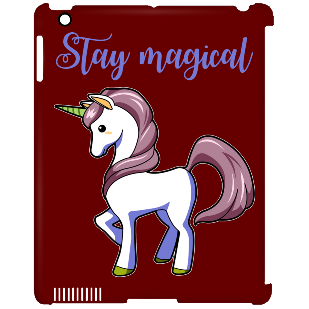 Stay Magical Unicorn Tablet Covers