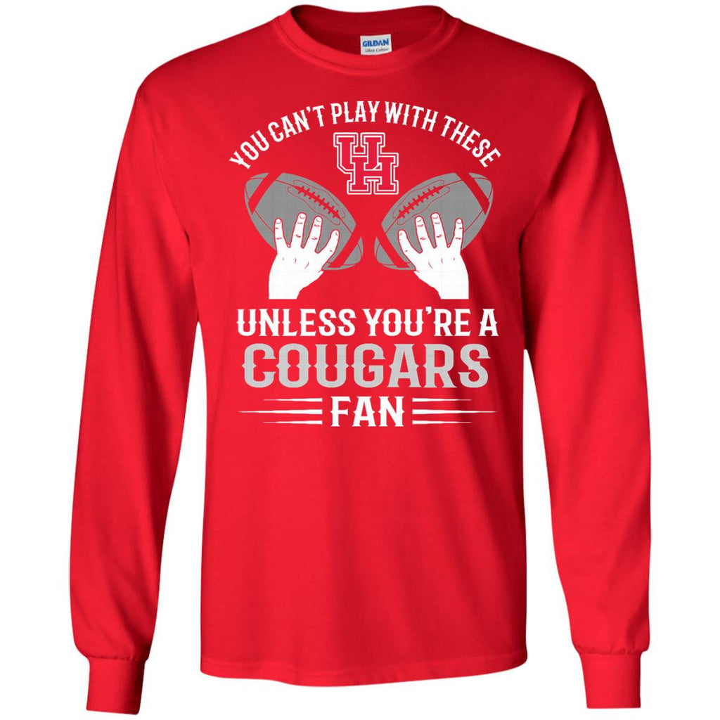 Play With Balls Houston Cougars T Shirt - Best Funny Store