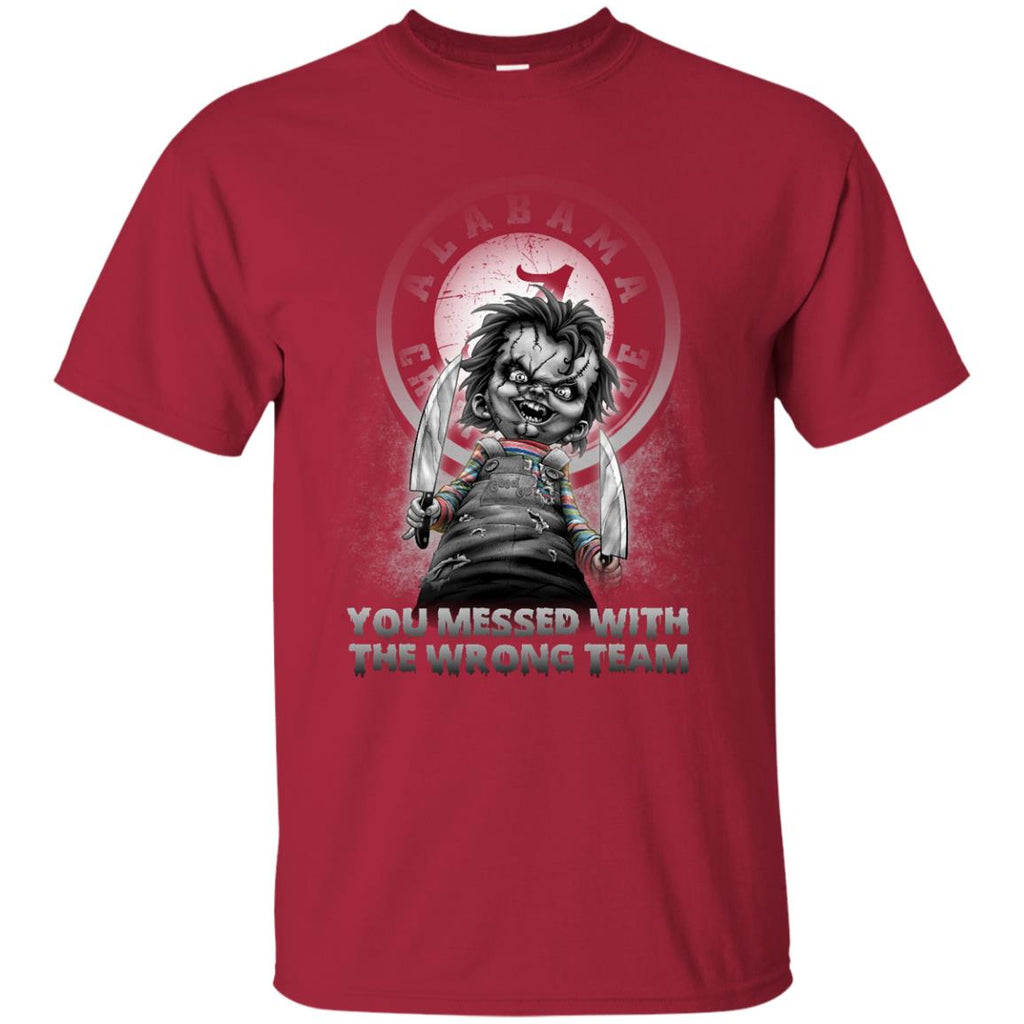 You Messed With The Wrong Alabama Crimson Tide T Shirts Best Funny