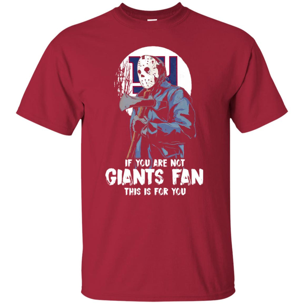 Jason With His Axe New York Giants T Shirts