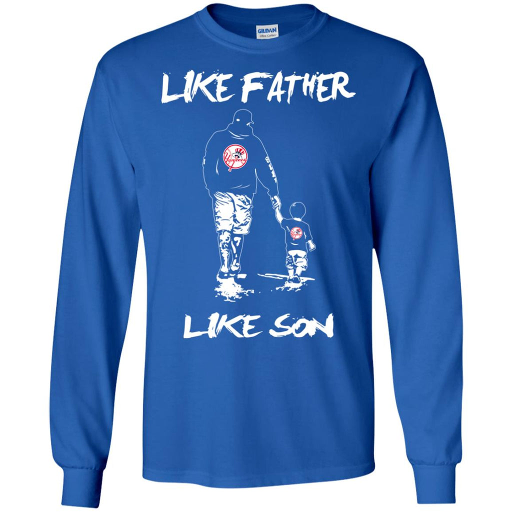 Like Father Like Son New York Yankees T Shirt