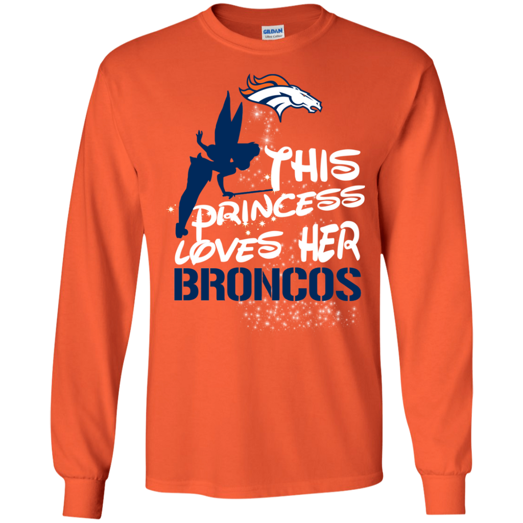 This Princess Love Her Denver Broncos T Shirts