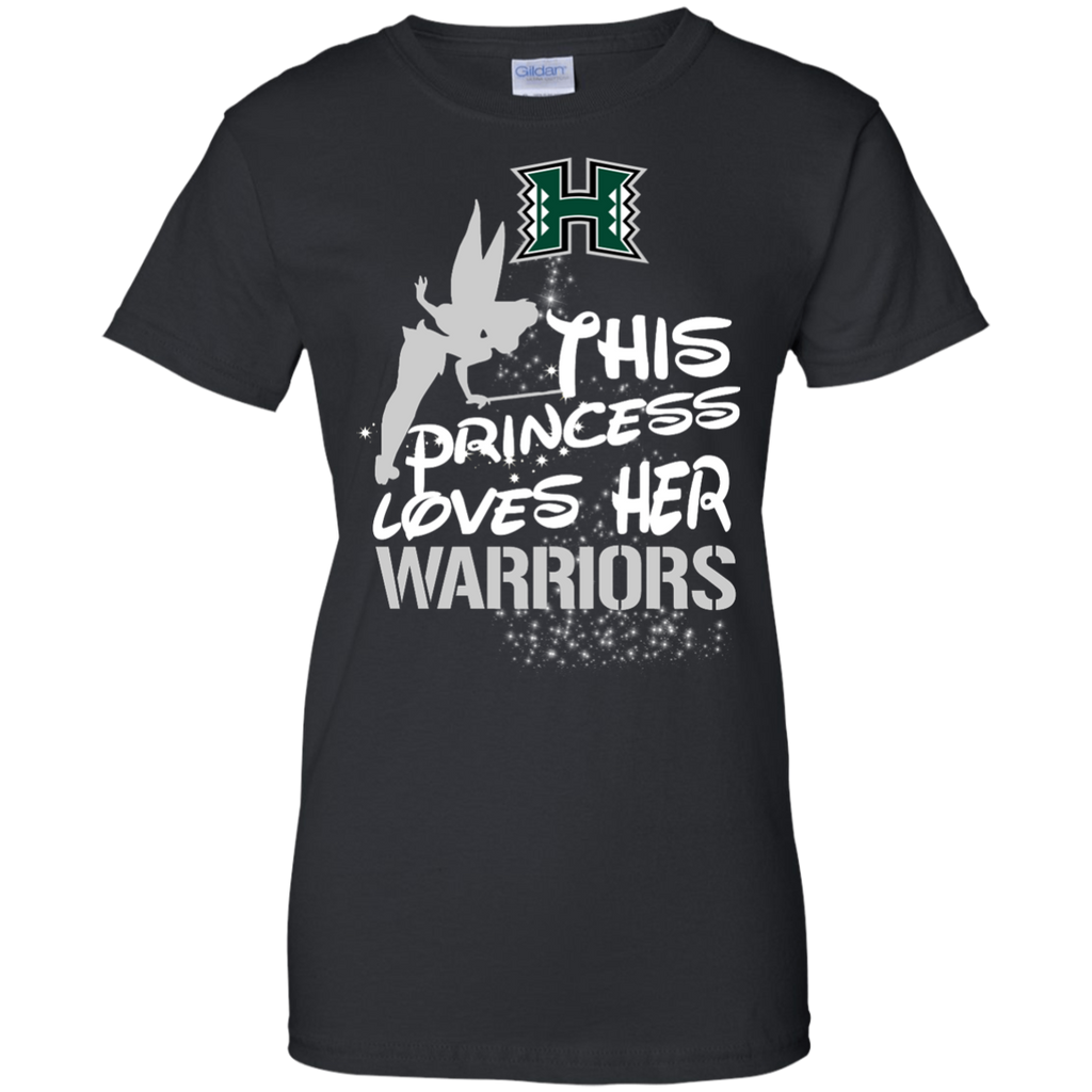 This Princess Love Her Hawaii Rainbow Warriors T Shirts