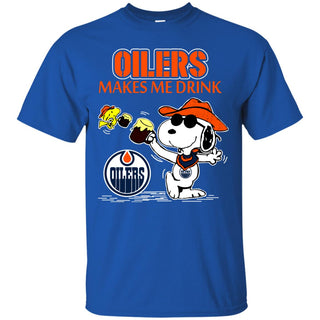 Edmonton Oilers Make Me Drinks T Shirts