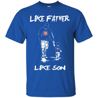 Like Father Like Son Chicago Cubs T Shirt