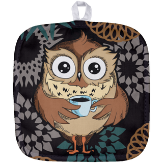 Sleepy Owl Pot Holders