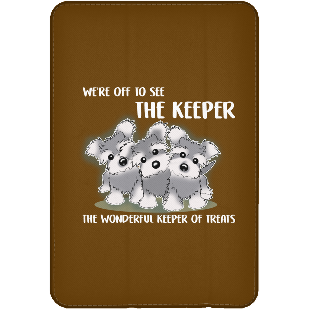We're Off To See The Keeper Schnauzer Tablet Covers