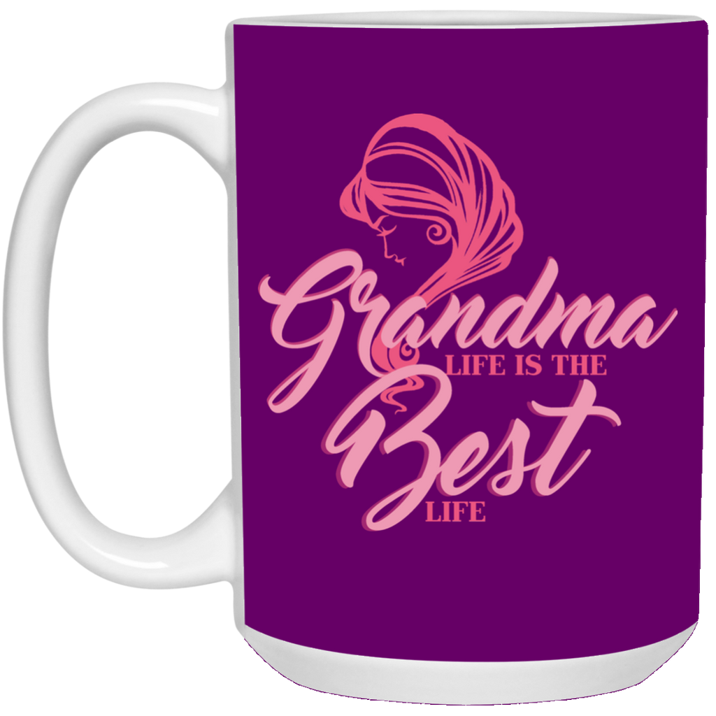 Grandma Life Is The Best Life Mugs