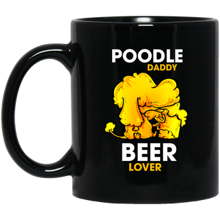 Poodle Daddy Beer Lover Mugs
