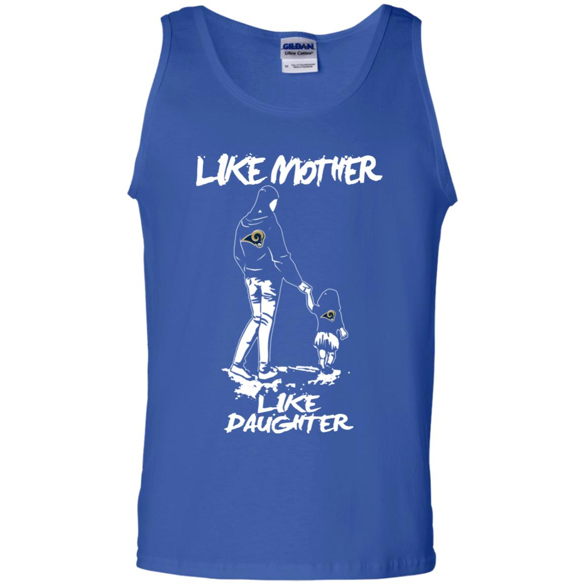 Like Mother Like Daughter Los Angeles Rams T Shirts