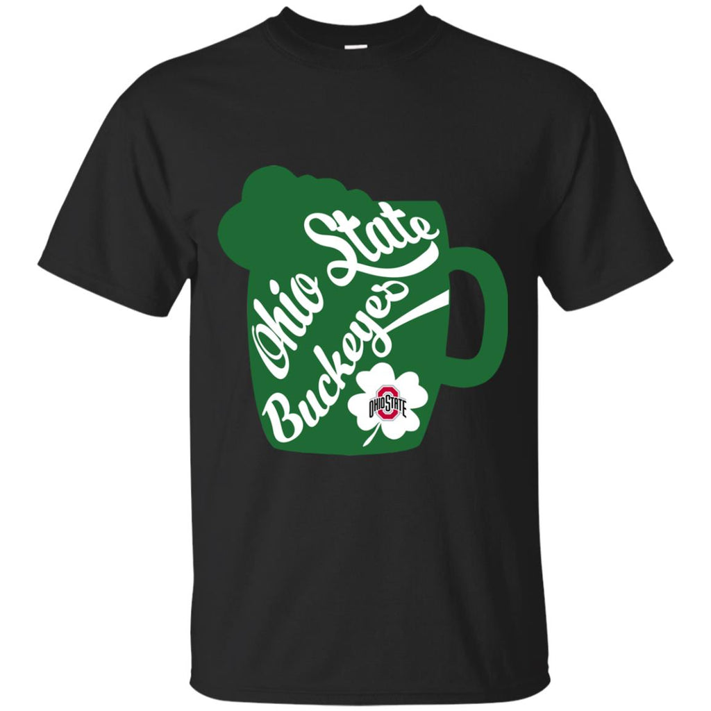 Amazing Beer Patrick's Day Ohio State Buckeyes T Shirts