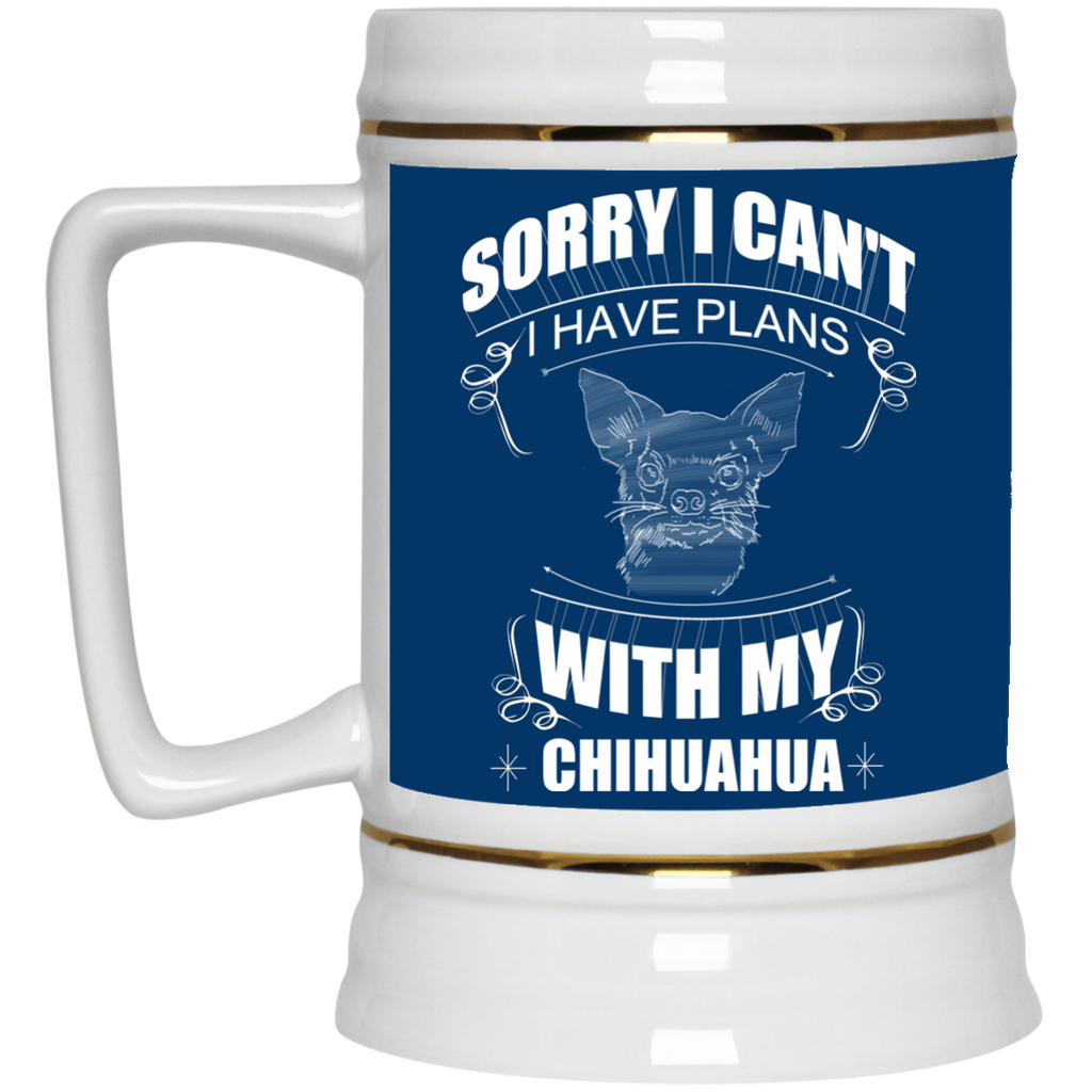 I Have A Plan With My Chihuahua Mugs