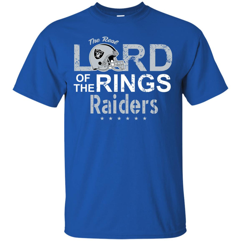 The Real Lord Of The Rings Oakland Raiders T Shirts
