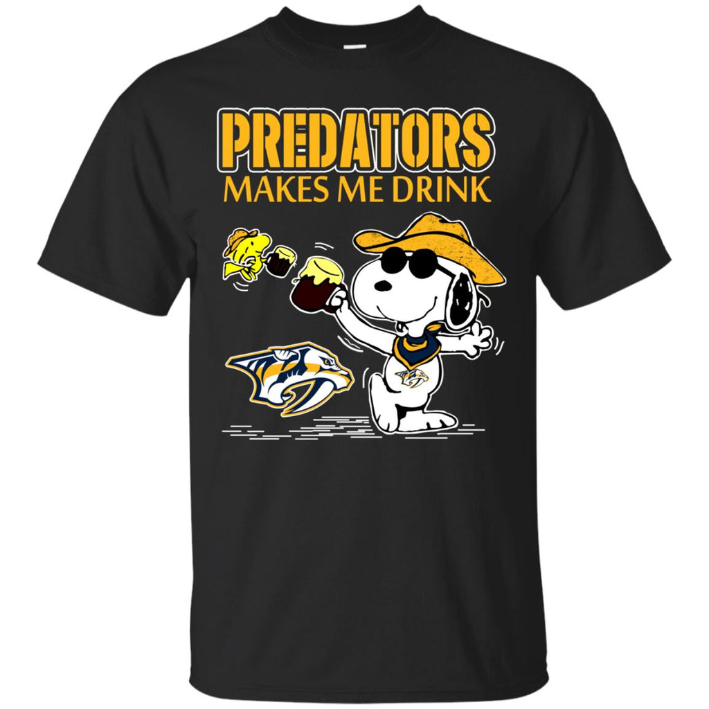 Nashville Predators Make Me Drinks T Shirts