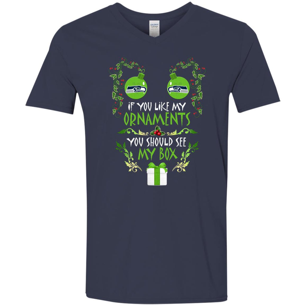 You Should See My Box Seattle Seahawks T Shirts