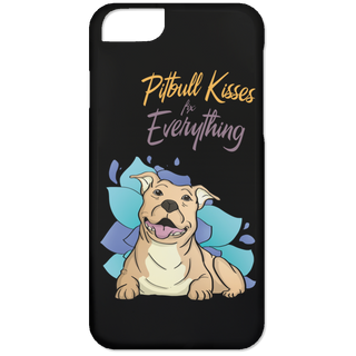Pitbull Kisses Fix Everything Phone Cases
