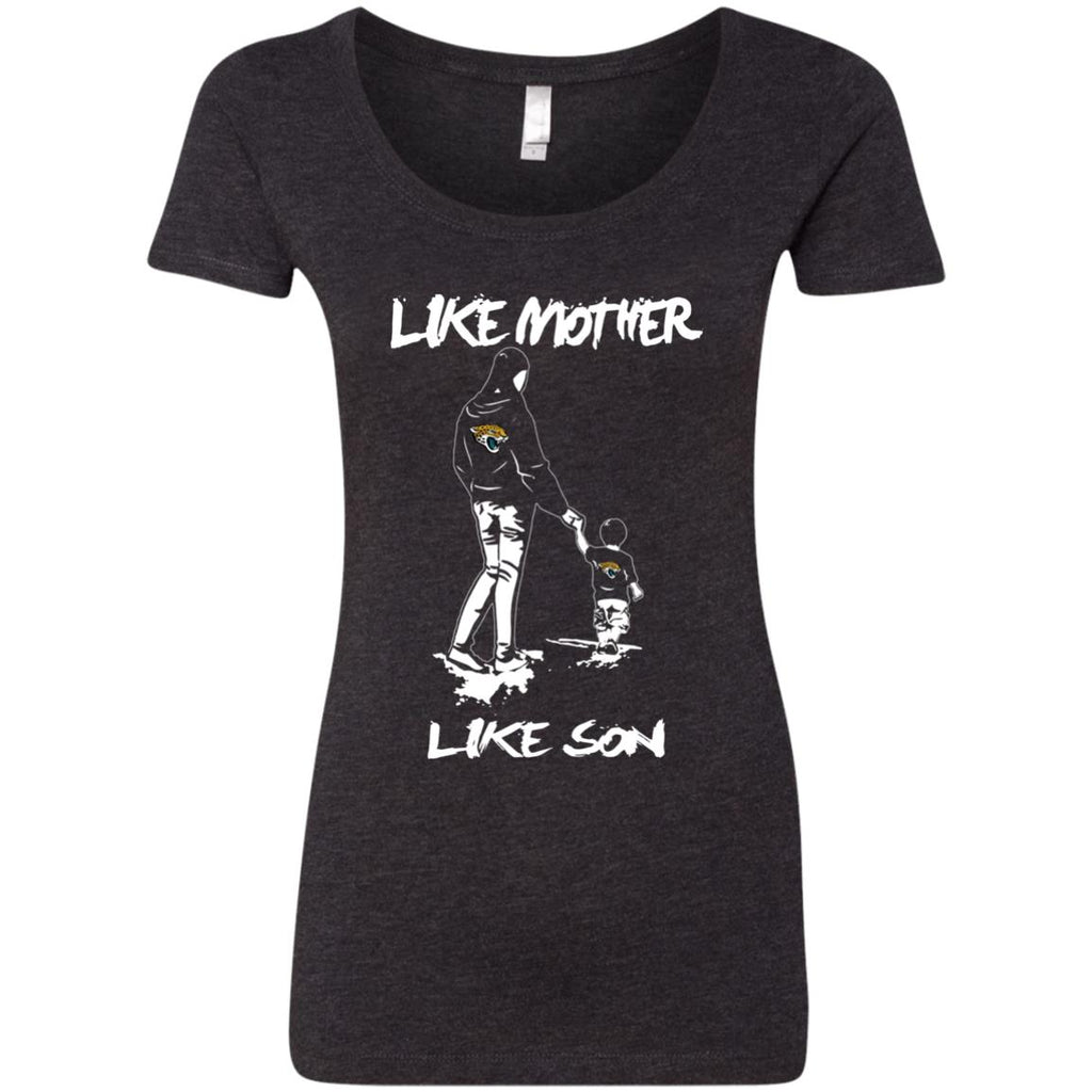 Like Mother Like Son Jacksonville Jaguars T Shirt
