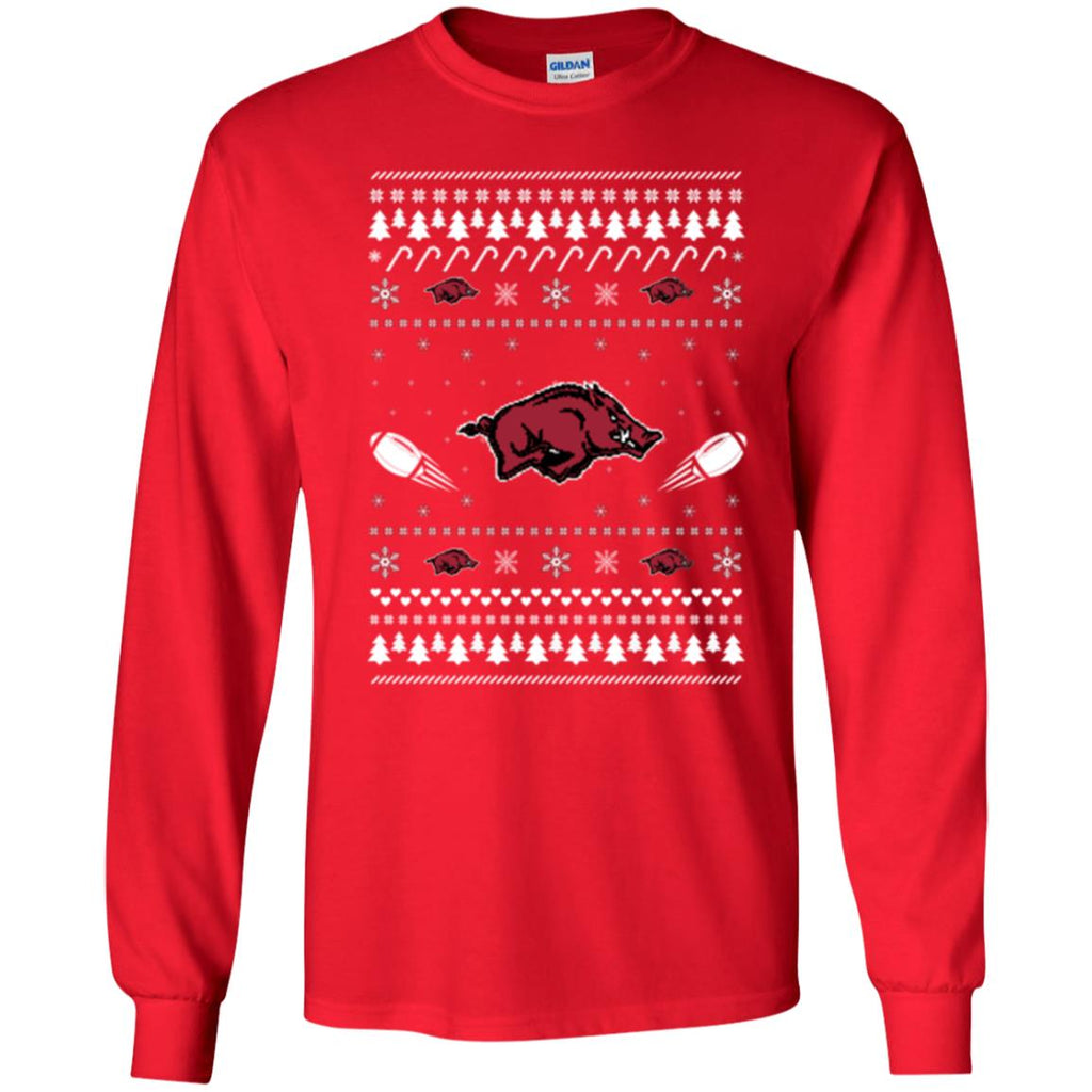 Arkansas Razorbacks Stitch Knitting Style Ugly T Shirts