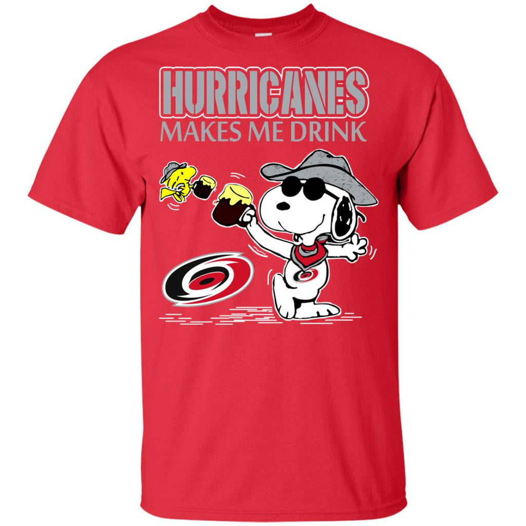 Carolina Hurricanes Make Me Drinks T Shirts